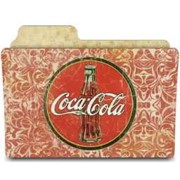 256x256px size png icon of drink coca cola
