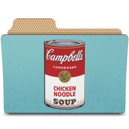 256x256px size png icon of warhol campbells can