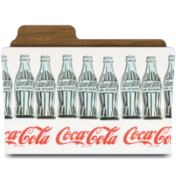 256x256px size png icon of warhol coca cola