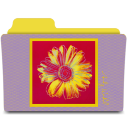 256x256px size png icon of warhol daisy