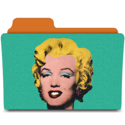 256x256px size png icon of warhol marilyn