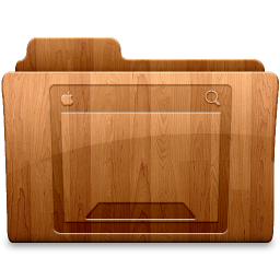 256x256px size png icon of Glossy Desktop