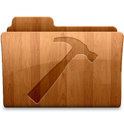 256x256px size png icon of Glossy Developer