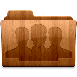 256x256px size png icon of Glossy Group