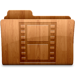 256x256px size png icon of Glossy Movies