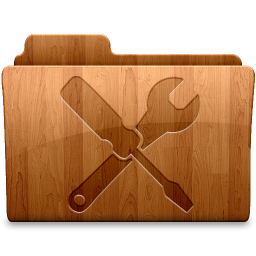 256x256px size png icon of Glossy Utilities
