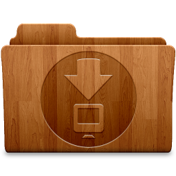 256x256px size png icon of Matte Downloads