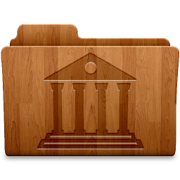 256x256px size png icon of Matte Library