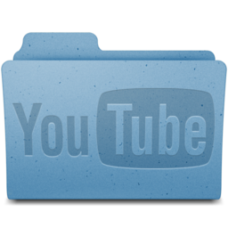 256x256px size png icon of YouTube Folder v1