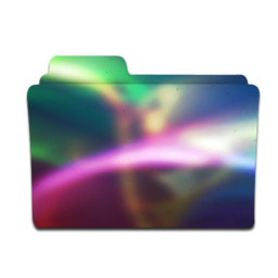 256x256px size png icon of colorflow folder