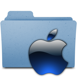 256x256px size png icon of apple3