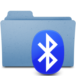 256x256px size png icon of bluetooh2