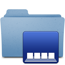 256x256px size png icon of dockfolder