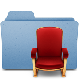 256x256px size png icon of frontrow