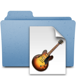 256x256px size png icon of garageband projects