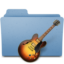 256x256px size png icon of garagebandpsd
