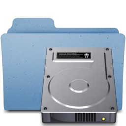 256x256px size png icon of hdd