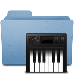 256x256px size png icon of midi