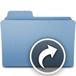256x256px size png icon of shortcuts