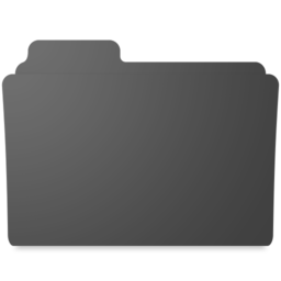 256x256px size png icon of minimal burnable folder