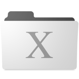 256x256px size png icon of minimal system