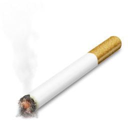 256x256px size png icon of Cigarette