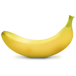 256x256px size png icon of Banana