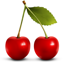 256x256px size png icon of Cherry