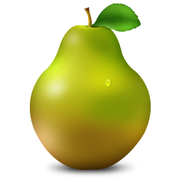 256x256px size png icon of Pear