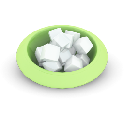 256x256px size png icon of Sugar Cubes
