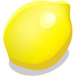 256x256px size png icon of lemon