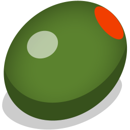 256x256px size png icon of olive