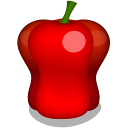 256x256px size png icon of pepper