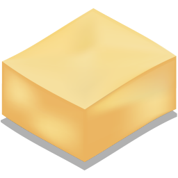 256x256px size png icon of tofu