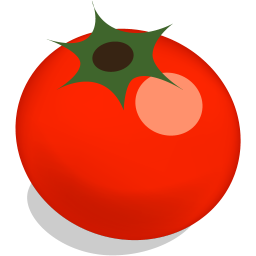 256x256px size png icon of tomato