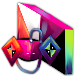 256x256px size png icon of Folder Games
