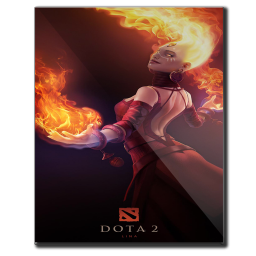 256x256px size png icon of Dota 2 3