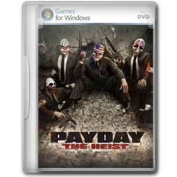 256x256px size png icon of Payday The Heist