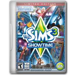 256x256px size png icon of The Sims 3 Showtime Limited Edition