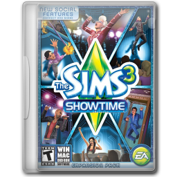 256x256px size png icon of The Sims 3 Showtime