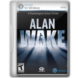 256x256px size png icon of Alan Wake
