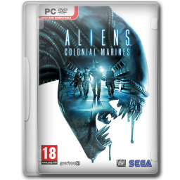 256x256px size png icon of Aliens Colonial Marines