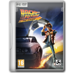 256x256px size png icon of Back to the Future The Game