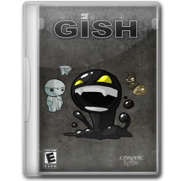 256x256px size png icon of Gish