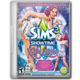 256x256px size png icon of The Sims 3 Showtime Katy Perry Collectors Edition