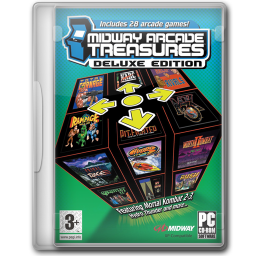 256x256px size png icon of Midway Arcade Treasures Deluxe Edition