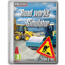 256x256px size png icon of Roadworks Simulator