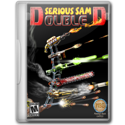 256x256px size png icon of Serious Sam Double D