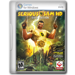 256x256px size png icon of Serious Sam HD Gold Edition