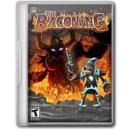 256x256px size png icon of The Baconing